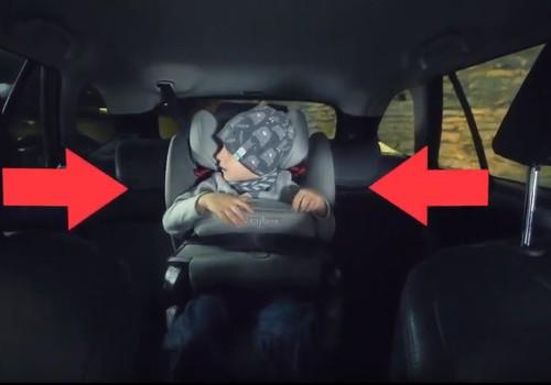 Maanteeameti video õpetab turvaseadmeid autosse ja last seadmesse kinnitama