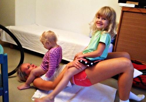 Toimetaja blogi: Ema ja beebi trennist