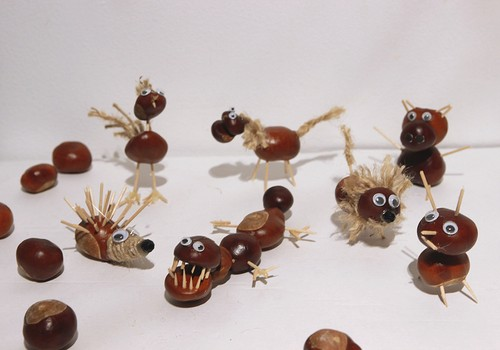 Meisterdame sügisest: Pisut totrad (ja armsad) kastaniloomad