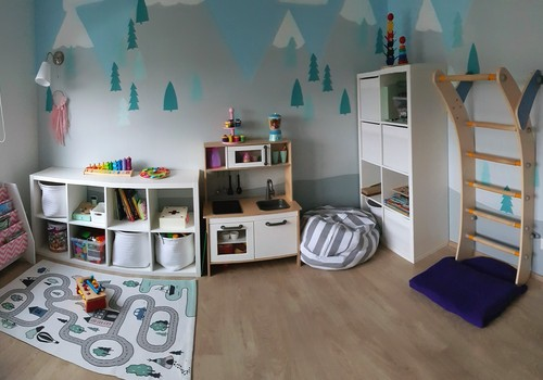 Inspireeriv Eesti lastetuba: Ühine mängutuba, ühine magamistuba
