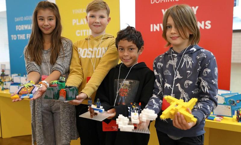 LEGO uus kampaania, mis innustab lapsi maailma muutma