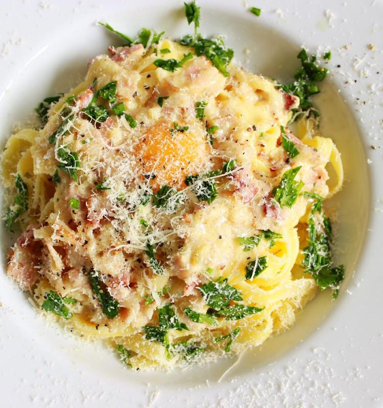Õhtusöögiidee: Maitsev ja imelihtne pasta Carbonara