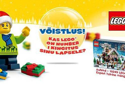 LEGO Creator Expert jõulukomplektide võitjad selgunud!