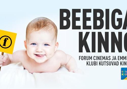 """Märtsikuu """"Beebiga kinno"""" sündmused Forum Cinemas kinodes"""