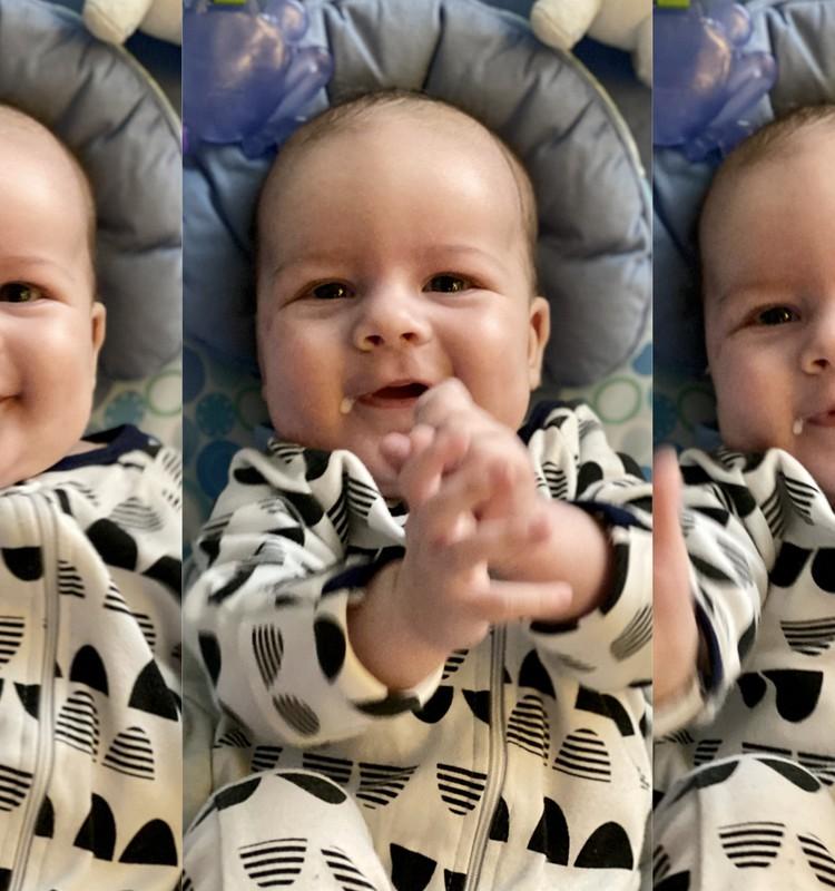 Väike Stefan testib Philips Avent koolikutevastast lutipudelit