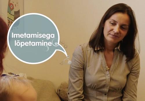 VIDEO! Beebiminutid: Imetamise lõpetamine