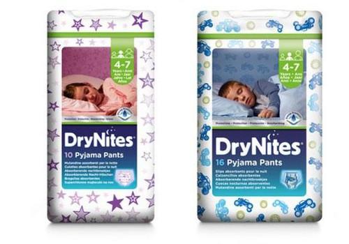 DryNites ® imavad ööpüksid - lastele, kes voodit märgavad