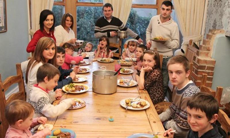 Pere, kus kasvab 20 last