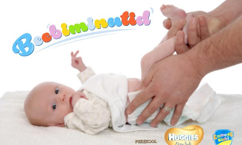 VIDEO! Beebiminutid: Isa-beebi võimlemine