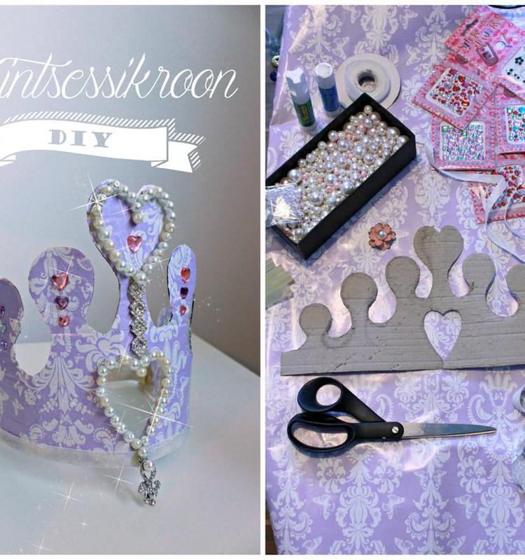 Käsitöönurk: Kodukootud printsessikroon