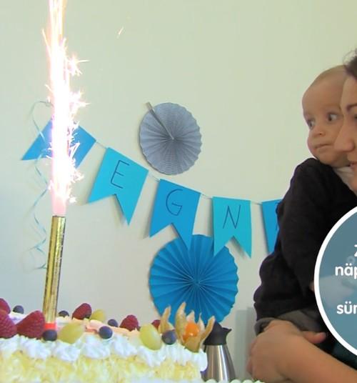 VIDEO! Zoombook: Näpunäiteid lapse esimeseks sünnipäevapeoks