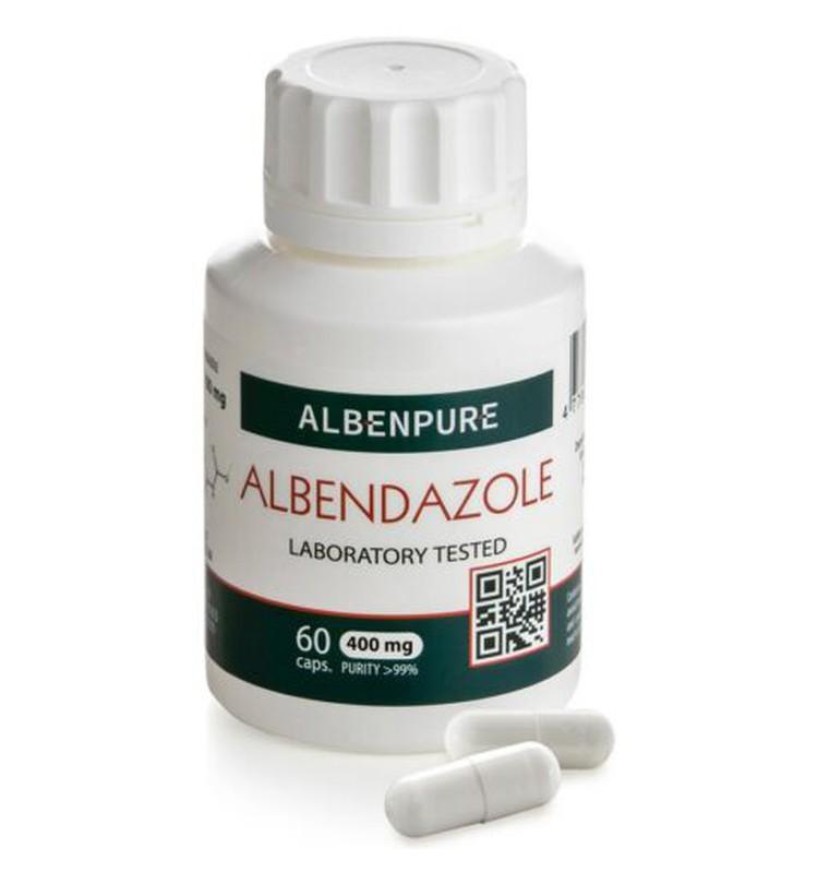 Albendazole capsules for pregnant women