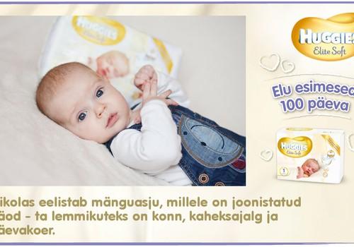 Huggies® Elite Soft esitleb: Beebi 100 esimest elupäeva (89. päev)