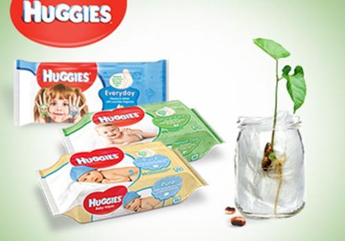 HUGGIES® niisked salvrätid - piisavalt looduslikud, et uba idanema panna!