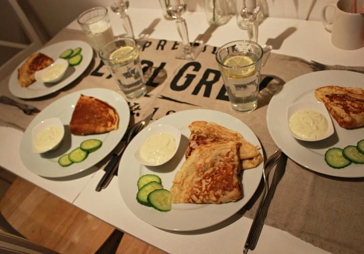 Õhtusöögiidee: Singi-juustu pannkoogid