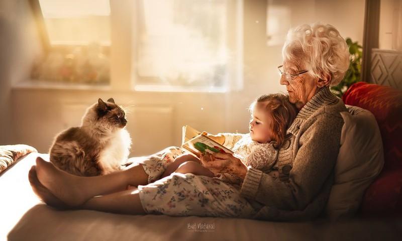Fotograaf, kes pildistab vanavanemlust