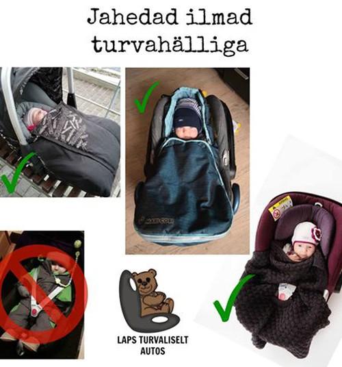 Nõuandeid beebi riietamiseks autosõidul