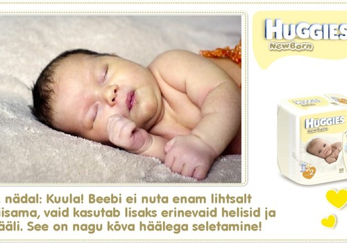 Neljas nädal koos Huggies® Newborn mähkmetega