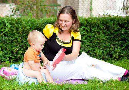 Kuidas last tagumikku pühkima õpetada?