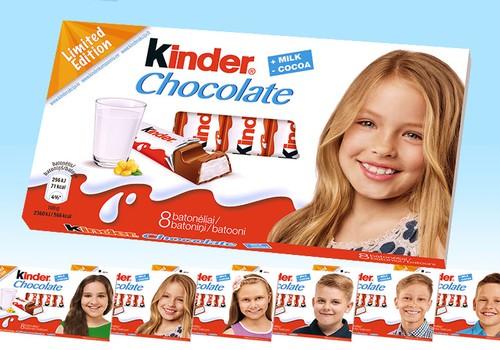 Vahva uudis: Kinderi šokolaadidel on nüüd Eesti laste näod