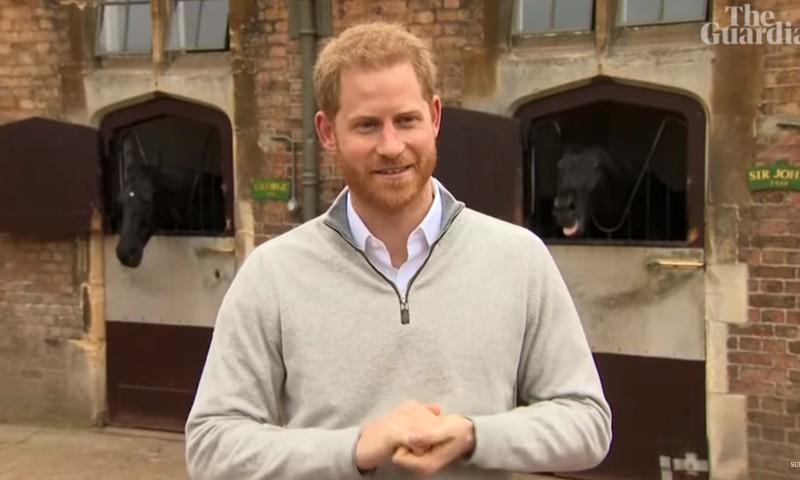Imearmas video: Prints Harry annab teada, et talle sündis poeg