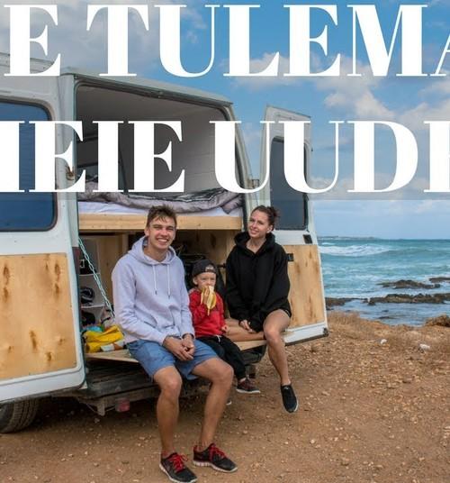 Eesti pere ehitas endale kaubikust kodu