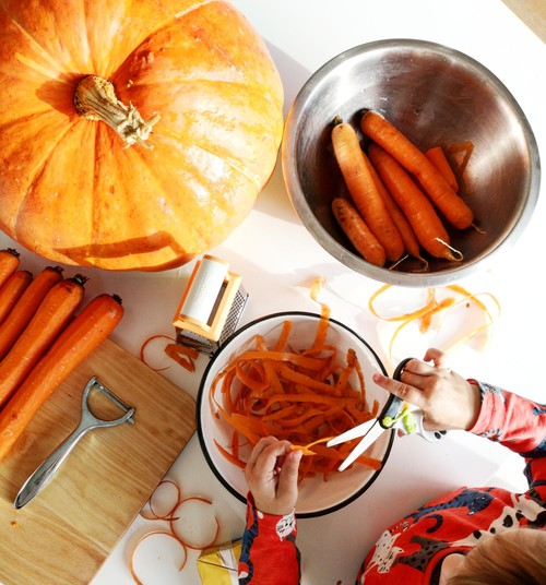 Gerri blogi: Sügisene porgandi-õunakeeks