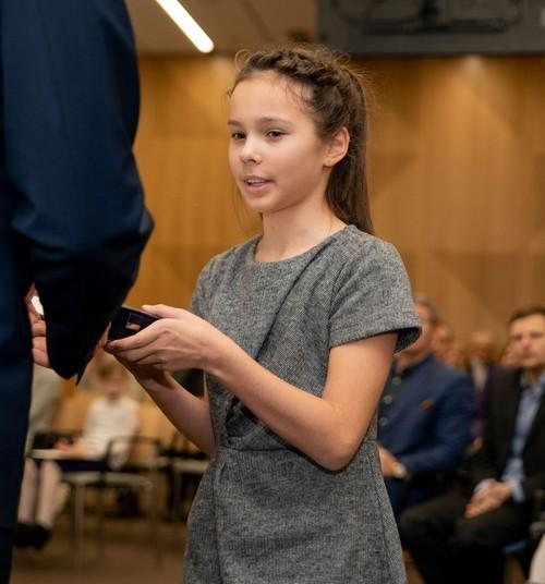 Lapsed, kes said kurjusele vastu astumise eest kodanikujulguse aumärgi