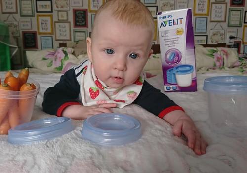 Emmede Klubi lugejad testivad: Philips Avent rinnapiima säilitustopsid