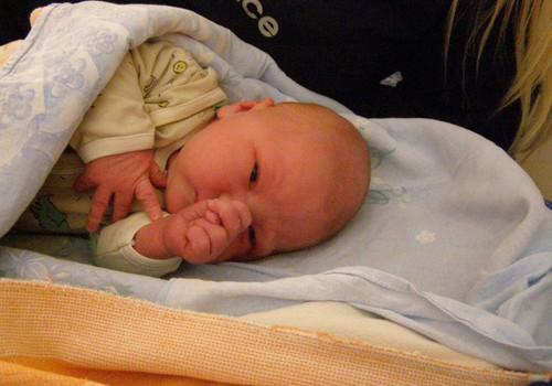 Minu poja Richardi sünd 27.01.2008
