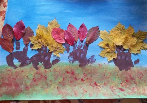 Meisterdame sügisest : värvilised puud