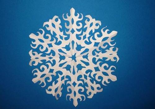 Käsitöö nurk: kuidas ise paberist lumehelbeid teha?