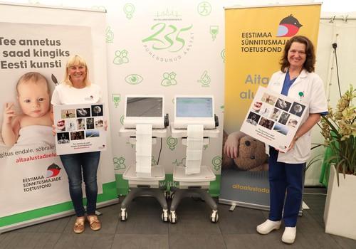 Tallinna sünnitusmajad said uue KTG-monitori, mis võimaldab sünnitajal vabalt liikuda