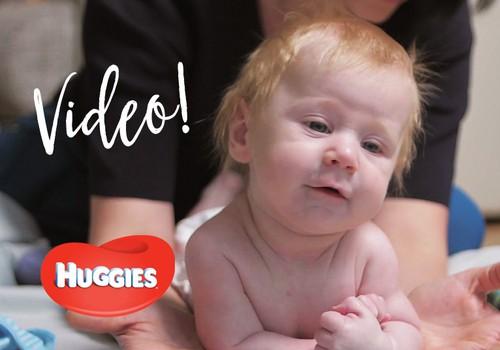 VIDEO! Beebi arengu toetamine kolmandal elukuul