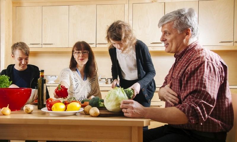 Ema-isa, mitu punkti sellest tervisliku toitumise kontrollnimekirjast saad Sina maha kriipsutada?