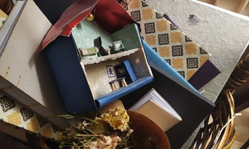 Tillukese nukumaja retsept_ehitame pisinukule paberist maja