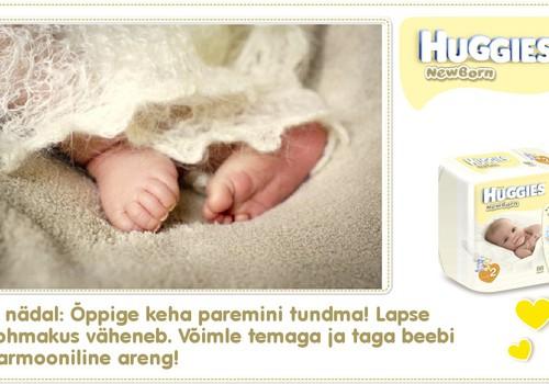 Viies nädal koos Huggies® Newborn mähkmetega