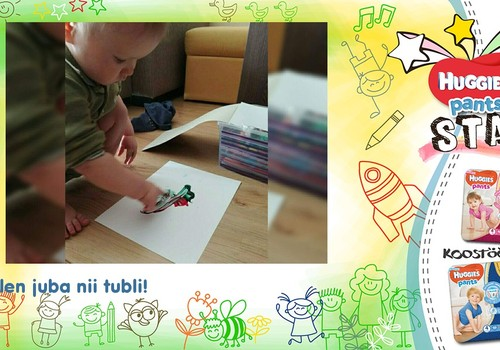 Õpin hoolega joonistama!