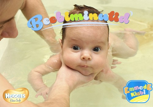 VIDEO! Beebiminutid: Beebiga basseinis