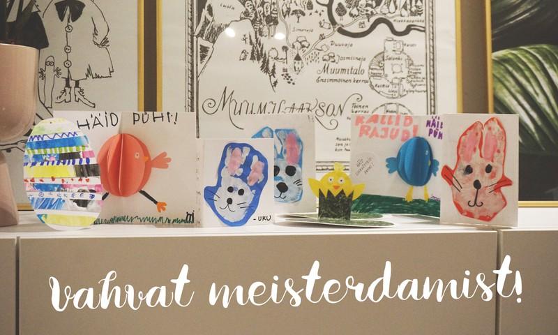Meisterdame vahva lihavõttekaardi vanaemale ja sõbrale!