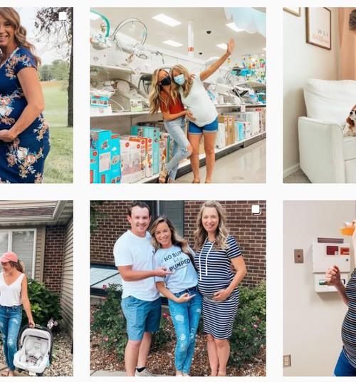 Jälgi Instagramis julget perekonda, kus ema kannab oma tütre last