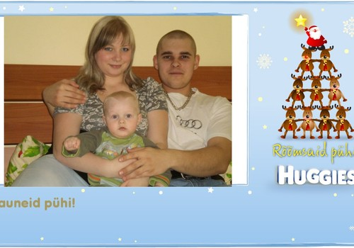 Soovime oma pere poolt rõõmsaid ja kingirohkeid jõule kõigile!!