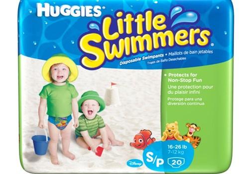 Suvine ujumine suures meres koos Huggies ® Little Swimmers ® püksmähkmetega!