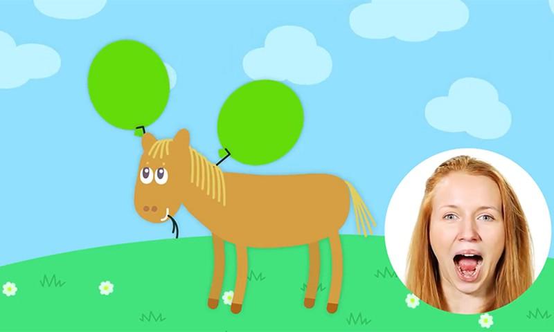 Vahvad joonisfilmid aitavad väikestel lastel logopeedilisi harjutusi teha