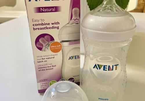 Philips Avent Natural lutipudeli arvustus: Meeldis, et pudeli lutt on natukene tekstuurne