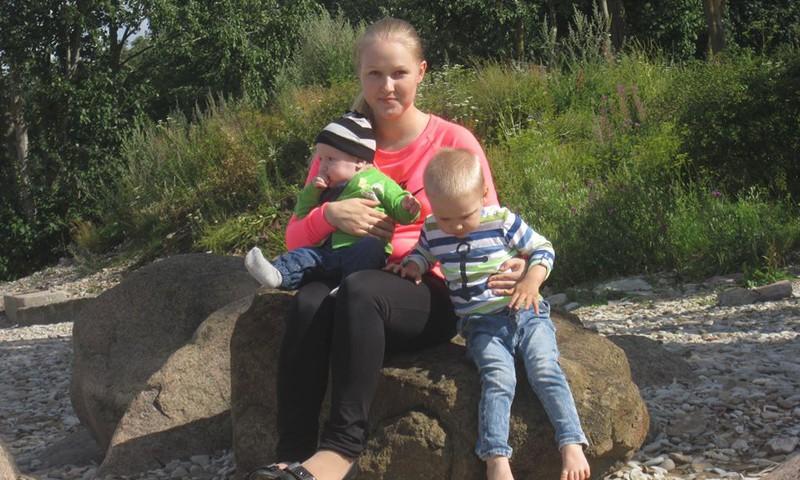 Kahe väikse lapse ema: Eluke on imelihtne ja lustlik!