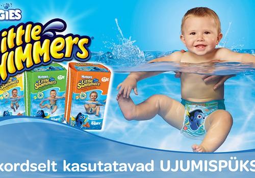 Naudi vett tänu Huggies® Little Swimmers® ujumismähkmetele
