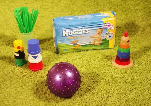 Kasva ja mängi koos Huggies® Super Dry´ga: ESIMENE ÜLESANNE