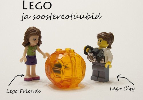 Kas Lego vähendab või süvendab soostereotüüpe?