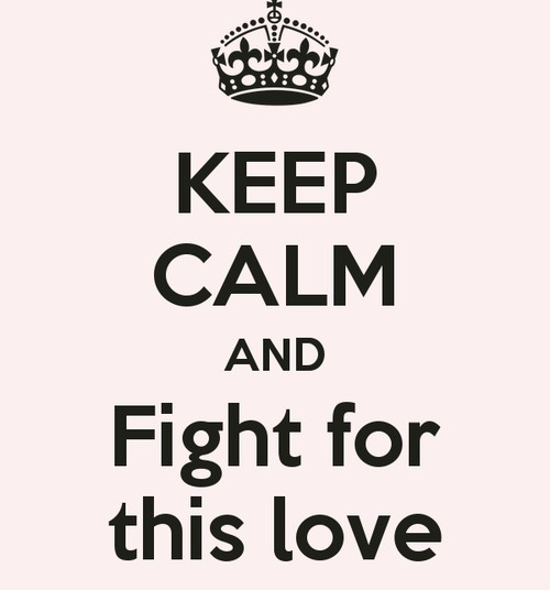 Minu armastuse meloodia: Fight for this love
